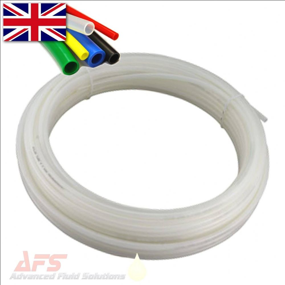 12mm O D X 10mm I D Metric Nylon Pa12 Tube Natural